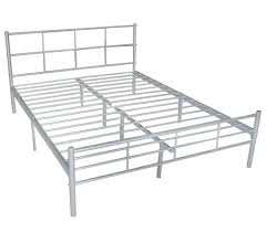 silver metal bed frame queen – sheppardartinstitute.org