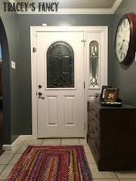 Brightened & Lightening Entry Way Makeover by Tracey's Fancy