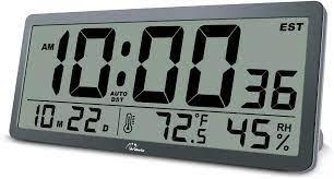 wallarge large digital wall clock