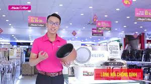 HOT DEAL 13.8] - Nồi cơm điện tử Sharp 1,8L: Giữ ấm  12h(KS-COM180EV-GY/186EV-GL)-Điện máy MediaMart - YouTube