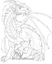 Coloring Dragons Elegant Dragon Pages Realistic Pictures Of Hard