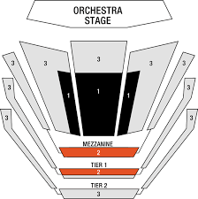 Mann Seating Chart Ted Mann Concert Hall Seating Chart Concertsforthecoast
