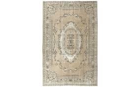 turkish overdyed oushak rug 7 x 10 7