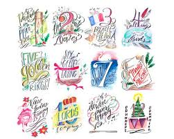 Days of Christmas Printable, Complete Collection – Lindsay Letters