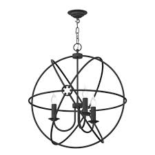 gyroscope pendant chandelier with colour options