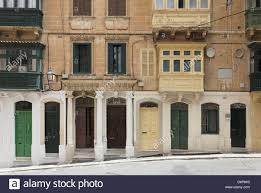 Malta, Valletta, UNESCO World Heritage, doors peaceful, harmonious ...