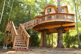 The Best Tree Houses Outdoor Treehouse Kits Treehouse Plans Simple
