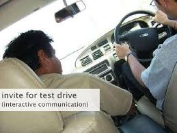 instantcontact for test drive interactivecommunication <br