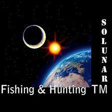 Solunar Table Fishing Hunting Times