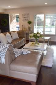 Living Room Table Accessories Create A Bright And Neutral Space By Using Accessories In White
