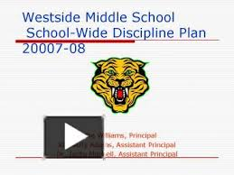 PPT – Westside Middle School SchoolWide Discipline Plan 2000708 PowerPoint  presentation | free to view - id: df78a-MDA2M