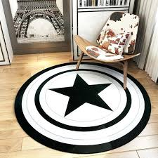 all modern round rug the black and white modern round captain bedroom living room became computer all modern round rug