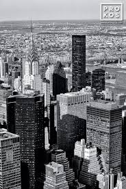 chrysler building black and white wallpaper. a black and white view of midtown manhattan the spire chrysler building from wallpaper r