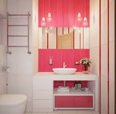 bathroom, Fascinating Concept Of Excellent Interior Girls Bathroom Ideas  With Elegant Cabinet Also Drawers Again
