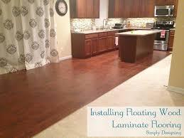 laminate wood flooring installation diy homeimprovement flooring simply designing