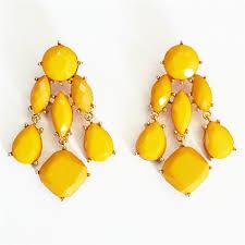 yellow earrings yellow drops chandelier statement earrings chandelier earrings drop earrings