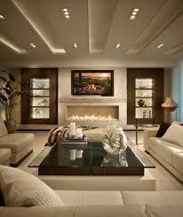 low horizontal fireplace