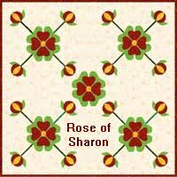 Free Pioneer Quilt Patterns With Their History & Rose of Sharon Quilt Adamdwight.com