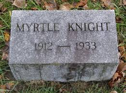 Myrtle Emma Phelps Knight (1912-1933) - Find A Grave Memorial