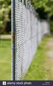 chain link fence post. Simple Chain ChainLink Fence  Stock Image Intended Chain Link Post