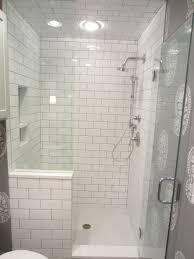 Walk in shower with half wall Master Bathroom Creative Decoration Ideas Walk In Shower With Half Wall Tiling By Santana Third Ward Walk Madeinthebarn Creative Decoration Ideas Walk In Shower With Half Wall