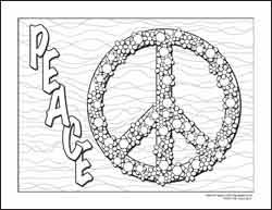 Small Picture Peace and Love Coloring Pages PEACE COLORING PAGES ONLINE