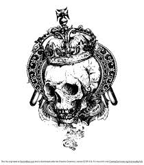 Free Vector <b>Grunge Skull</b>