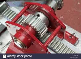 Rack And Pinion Gears Convert Rotational Motion Into Linear