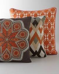 orange accent pillows. \ Orange Accent Pillows