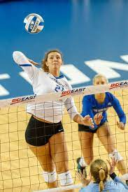 Competitiveness is the backbone of Naomi Hickman's evolution as a key cog  for Creighton Volleyball
