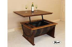 rustic lift top coffee table lift top coffee table real wood furnitu on reclaimed wood coffee