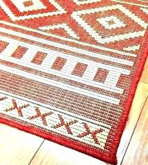 red indoor outdoor rug carpets new safavieh courtyard plaid bone