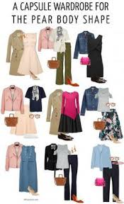 Clothing Design Ideas how to dress the pear body shape a capsule wardrobe for the pear body shape