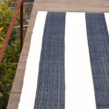 lakehouse navy indoor outdoor rug posh tots furniture detail image