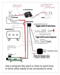 wiring diagram for air horn the wiring diagram air horn wiring diagram nilza wiring diagram