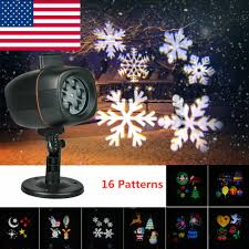 Christmas Projector Lights Ebay Details About Waterproof Led Laser Double Projector Lights Party Christmas Landscape Lamp 16p