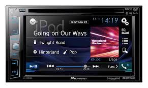 com pioneer avhxbhs din receiver display com pioneer avhx3800bhs 2 din receiver 6 2 display built in bluetooth siri eyes appradio one hd radio car electronics
