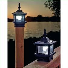 lighting solar powered garden lamp post light lamp post lights image of solar deck post