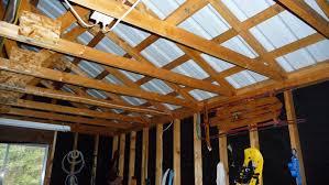 garage ceiling insulation. Plain Insulation Picture 2 Httpwdbdesigncomimagesgarage_rafters_02jpg  Insulation  Garage  Throughout Garage Ceiling Insulation E