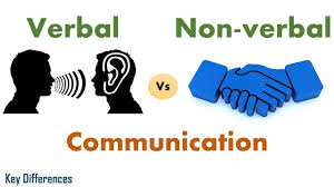 Verbal Vs Non Verbal Communication Difference Between Them With Examples Comparison Chart