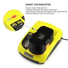 Ryobi P117 No Lights 12v 18v Ryobi P117 Fast Battery Replacement Charger 3a With 2 Usb Ports
