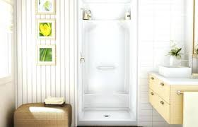 three piece shower drain one piece shower large size of piece shower stall with units x three piece