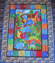 47 best Dinosaur quilts images on Pinterest | Blankets, Baby kids ... & CLOSING SALE 50% OFF Dinosaur baby quilt Adamdwight.com