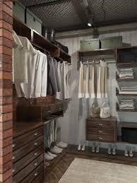 Loft Closet With Clothes Organizer