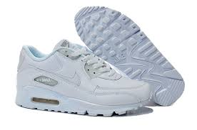 nike air max 90 leather white 302519 113 men s women s running shoes fashion sneakers