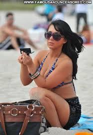 Angelina Pivarnick Nude Sexy Scene Beach Bikini Showing Tits