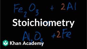 Stoichiometry Video Khan Academy