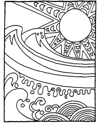 Small Picture Ocean Waves Coloring Pages GetColoringPagescom