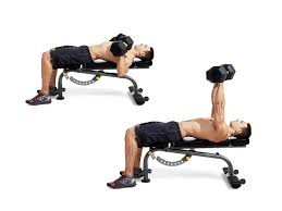 dumbbell bench press video watch proper form get tips home chest workout routine best dumbbell