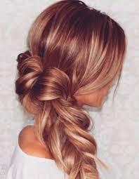 Balayage Cuivr Sur Cheveux Blonds Fonc S Balayage Cuivr Le